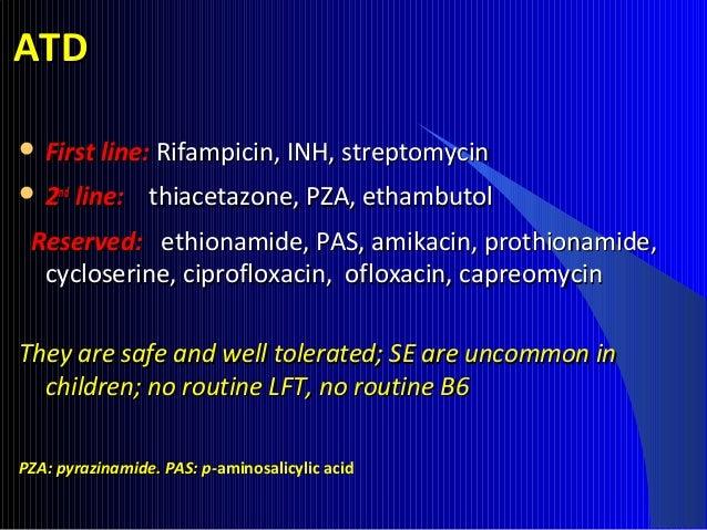 95 Coricosteroids in TBCoricosteroids in TB In PE, TBM, pericarditis, HIV-TB, endobronchial TB, TBIn PE, TBM, pericarditis...