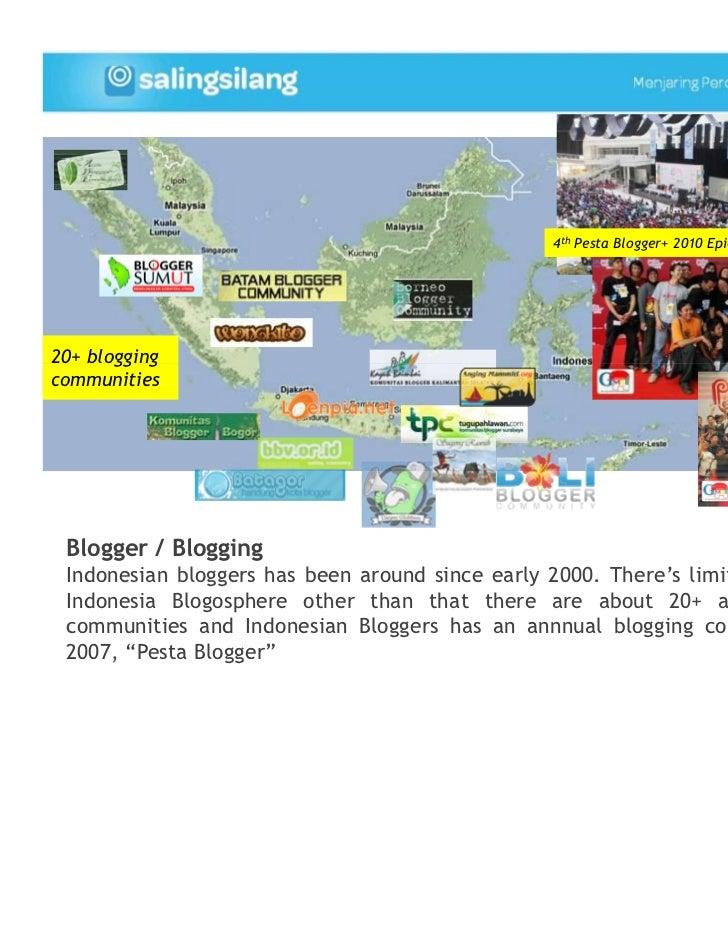 4th Pesta Blogger+ 2010 Epicentrum, Jakarta, 30 Oct20+ bloggingcommunities Blogger / Blogging Indonesian bloggers has been...