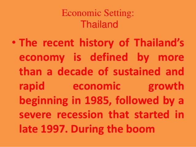 fiscal policy in thailand 1997 financia In 1997, thailand faced an economic crisis stemming from a variety of pressures fiscal policy reform, and financial sector reform.