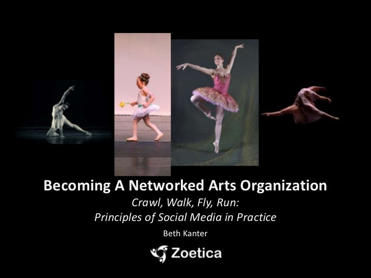 Leveraging Social Media: Becoming A Networked Arts Organization