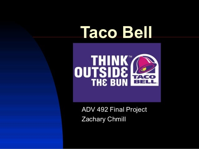 Taco Bell ADV 492 Final Project Zachary Chmill