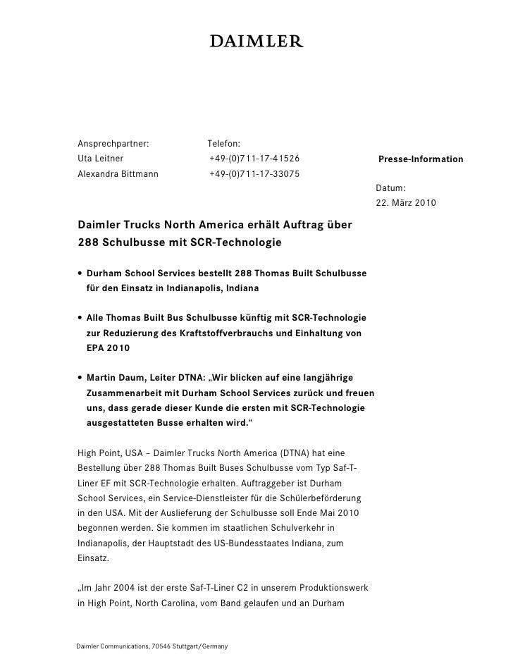 Ansprechpartner:                        Telefon:Uta Leitner                             +49-(0)711-17-41526             Pr...