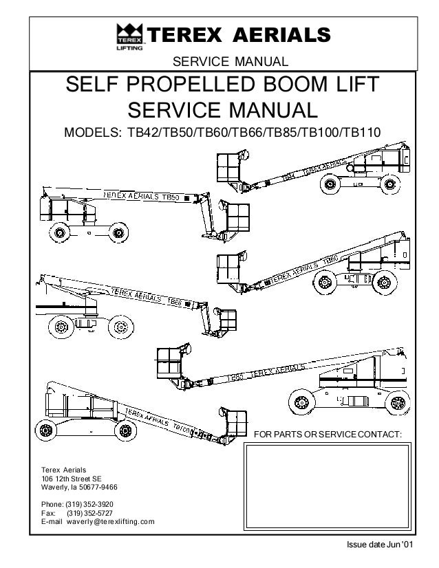 tb boom lift service manual. Black Bedroom Furniture Sets. Home Design Ideas