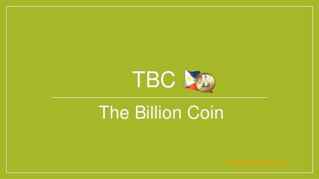 TBC The Billion Coin https://thebillioncoin.ph