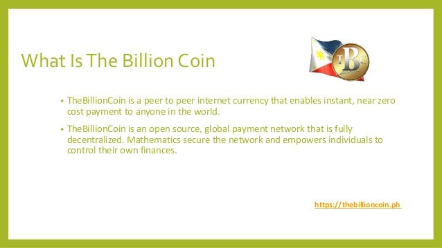 TBC - The Billion Coin - Buy & Sell Cyptocurrency  Slide 2