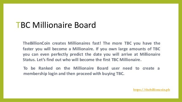 TBC - The Billion Coin - Buy & Sell Cyptocurrency  Slide 3