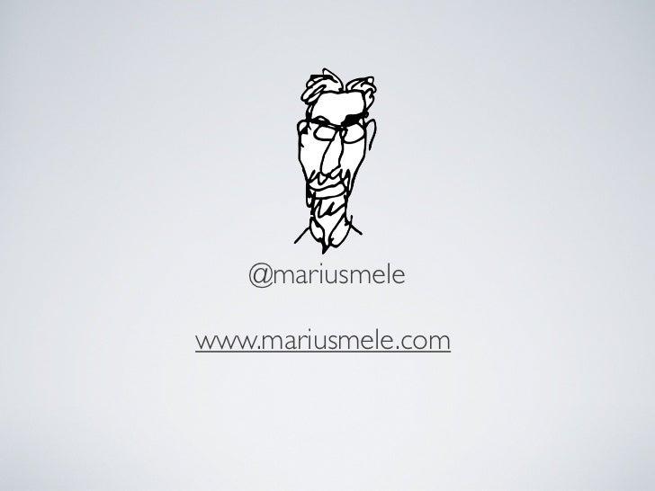 @mariusmelewww.mariusmele.com