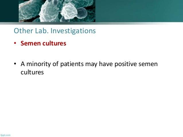 Sperm Culture And Sensitivity