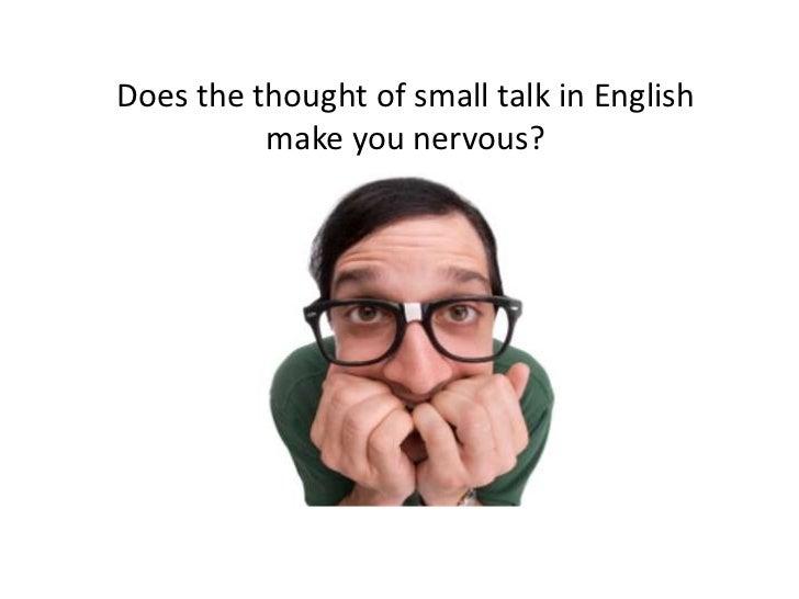 Mastering the art of small talk Slide 3