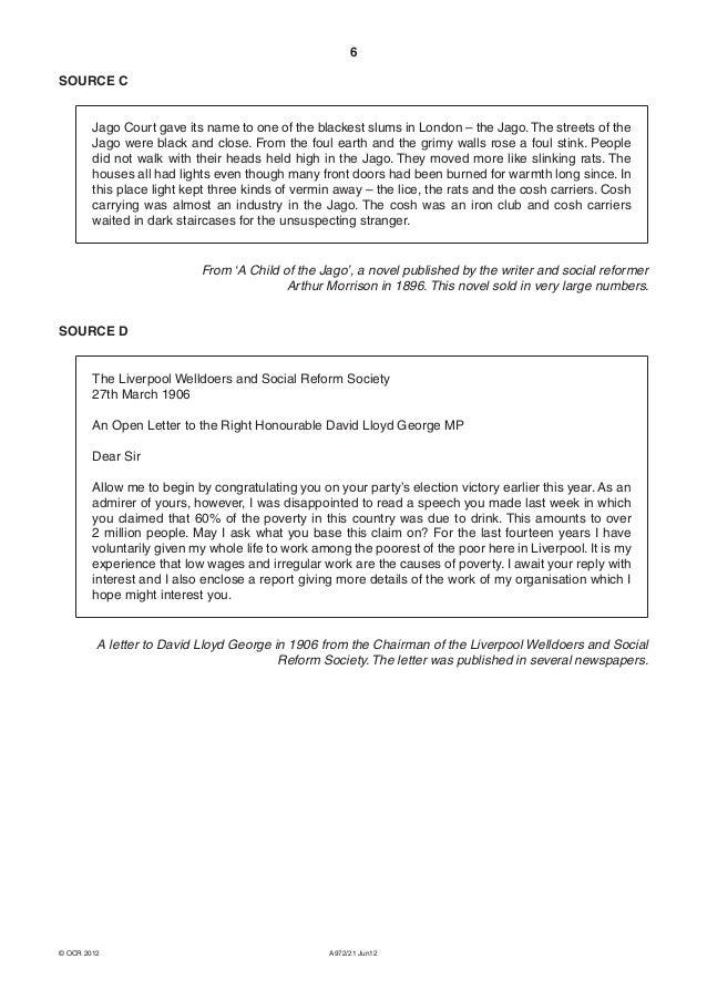 British social history liberals june 2012 – Arthropod Worksheet