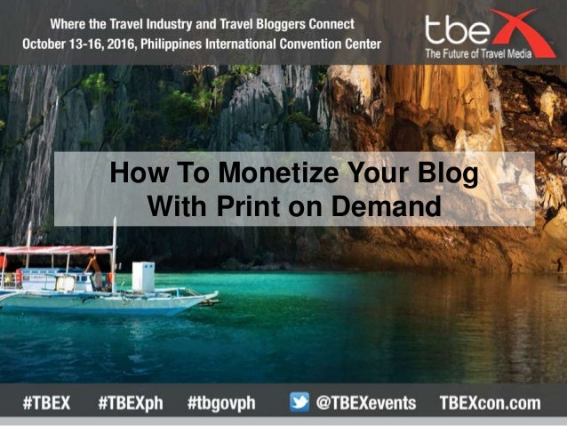 How To Monetize Your Blog With Print on Demand