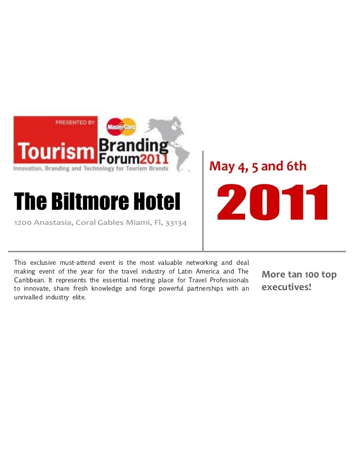 May 4, 5 and 6thThe Biltmore HotelThis exclusive must-attend event is the most valuable networking and dealmaking event of...