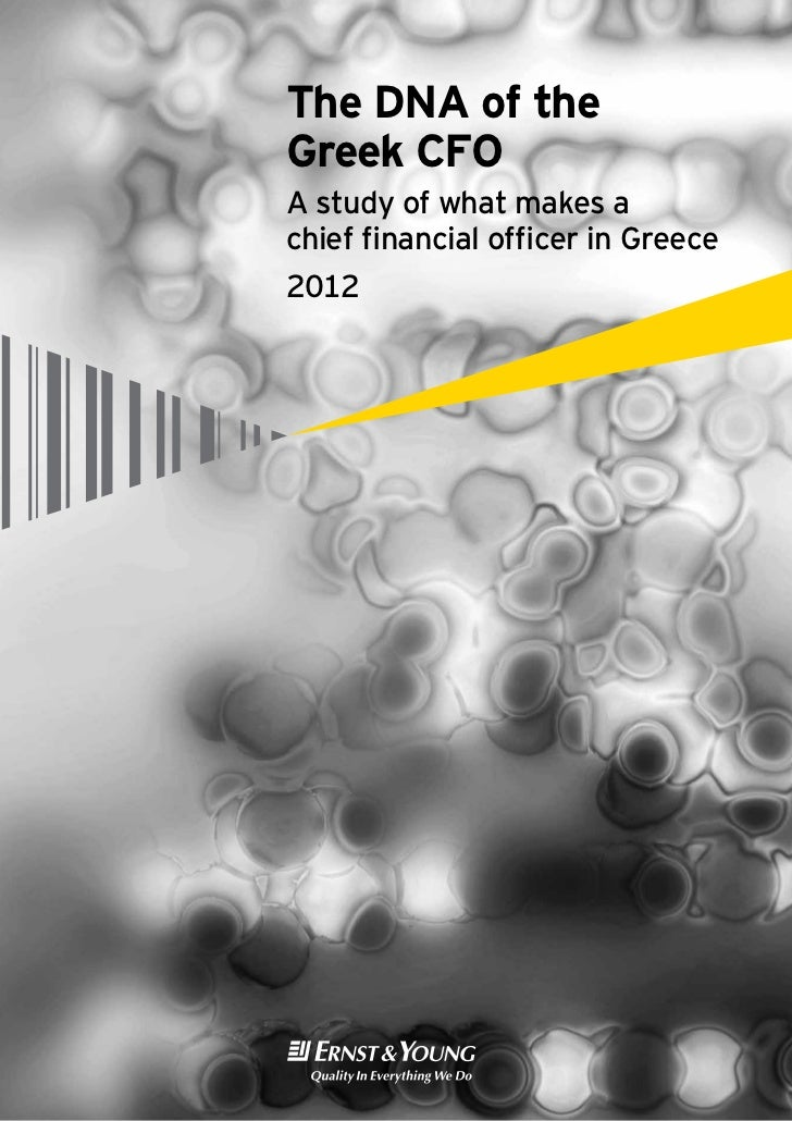 The DNA of theGreek CFOA study of what makes achief financial officer in Greece2012