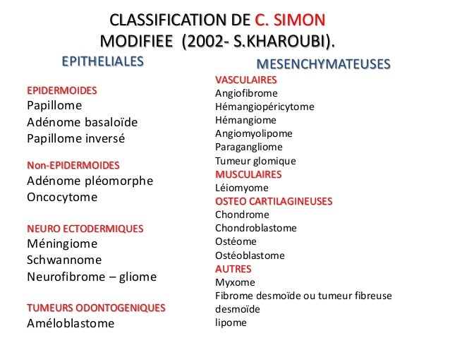 Tumeurs bénignes des fosses nasales 2013 new1