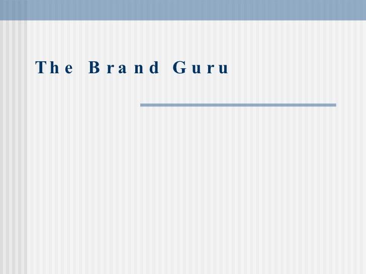 The Brand Guru