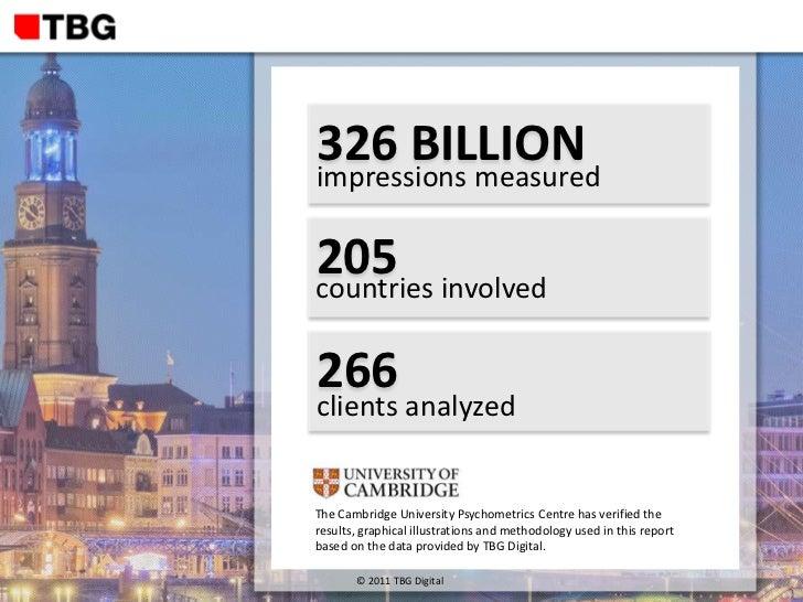 TBG Digital Global Facebook Advertising Report 2011 Slide 2