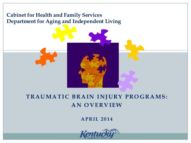 TRAUMATIC BRAIN INJURY PROGRAMS: AN OVERVIEW APRIL 2014 Cabinet for Health and Family Services Department for Aging and In...