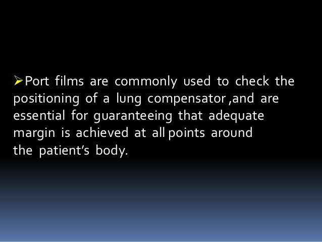 Therefore Point measurements for verifying the  dose prescription and distribution should be  done.  This is called In Vi...