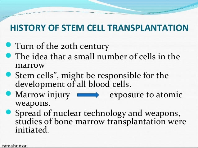 Diseases Treated by Bone Marrow Transplantation Aplastic anemia Thalassemia Sickle cell anemia Immunodeficiency disord...