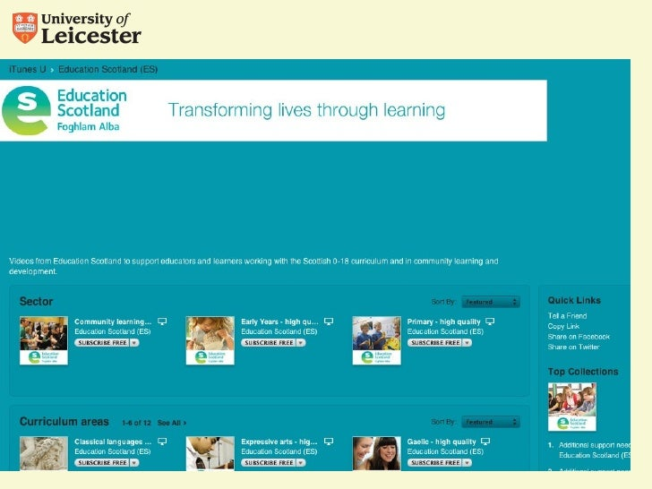 iBooks, iTunes U, and the learning materials revolution