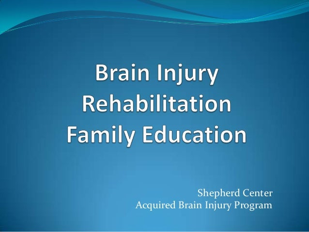 Shepherd CenterAcquired Brain Injury Program