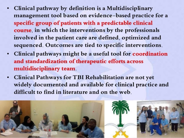 clinical pathway definition