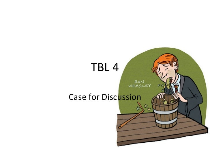 TBL 4 Case for Discussion