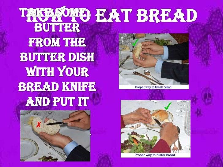 Table Manner of England Slide 3