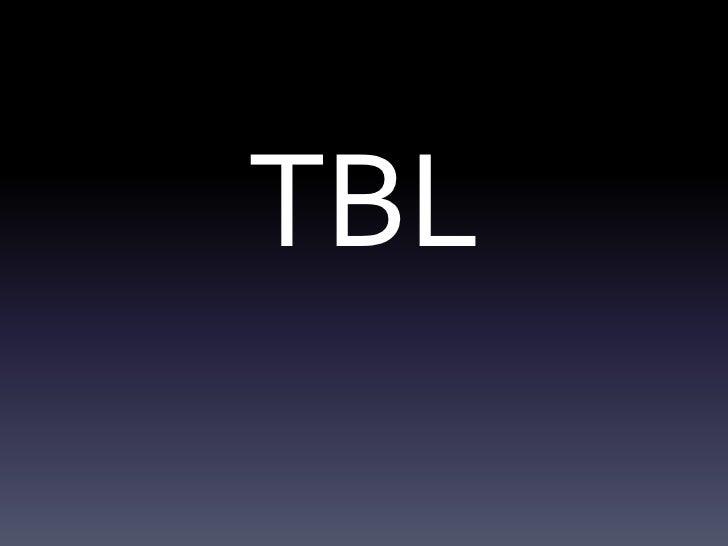 TBL<br />
