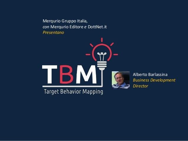 Merqurio Gruppo Italia, con Merqurio Editore e DottNet.it Presentano Alberto Barlassina Business Development Director