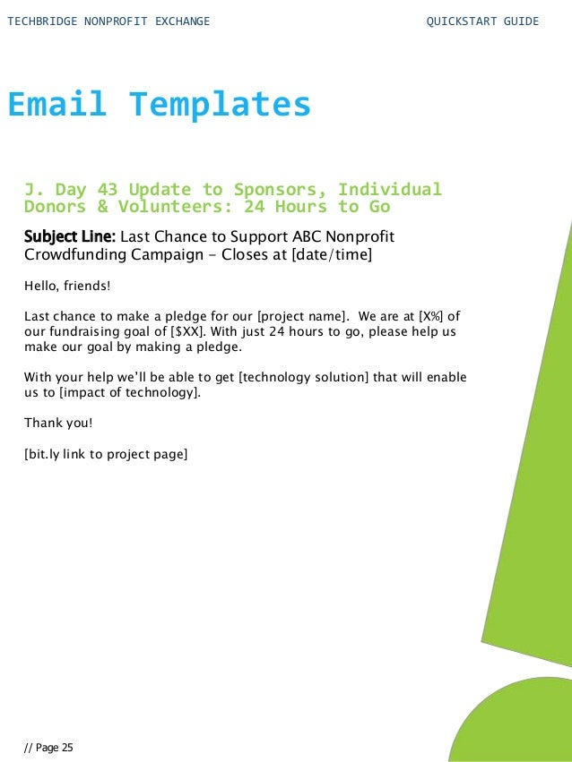 exchange email templates