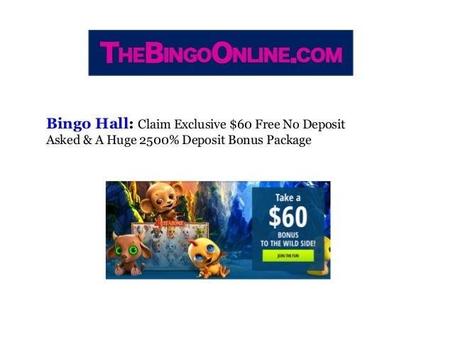 Online no deposit bingo sites roulette tip uk
