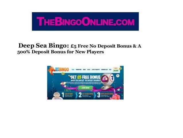 Bingo sites free bonus no deposit gambling website directory