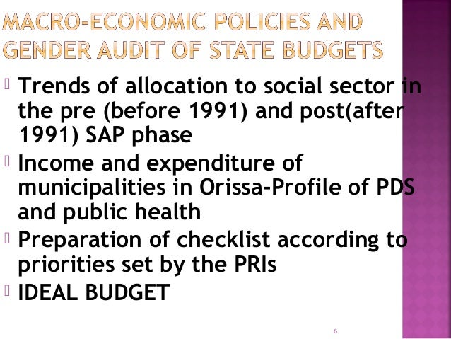 challenges and prospects of gender budgeting Posts about advocacy and the budgeting process in nigeria 78 gender issues and the challenges of development in the twenty-first century 79 politicization of.