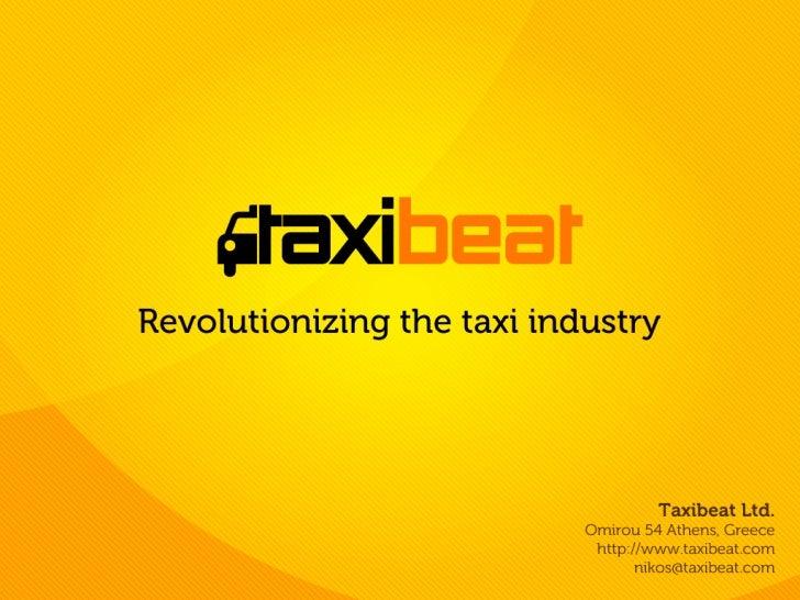taxi industry is   broken
