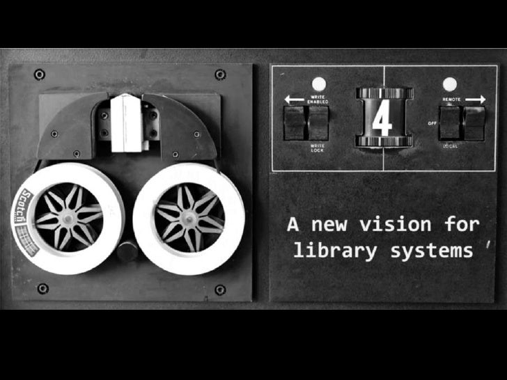 """JISC Grant Funding 01/12""""The aim of this work is to contribute to a newvision for library systems and provide concrete,   ..."""