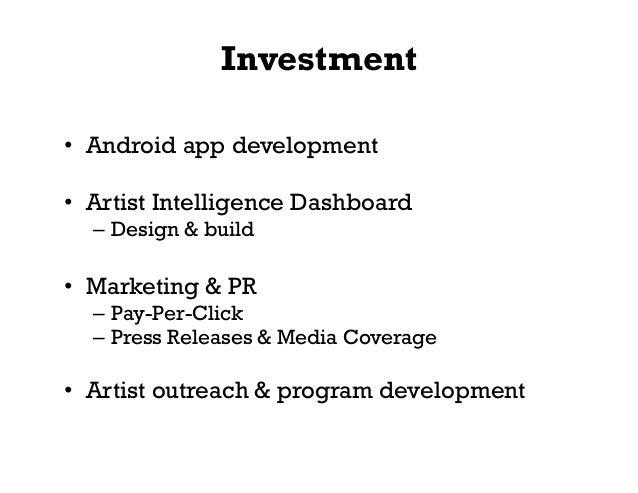 Startup Pitch Deck - Sample Presentation Design by MK Tantum - TuneBash Music App