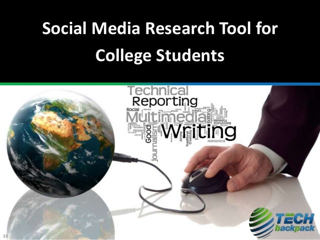 Social Media Research Tool for College Students 15