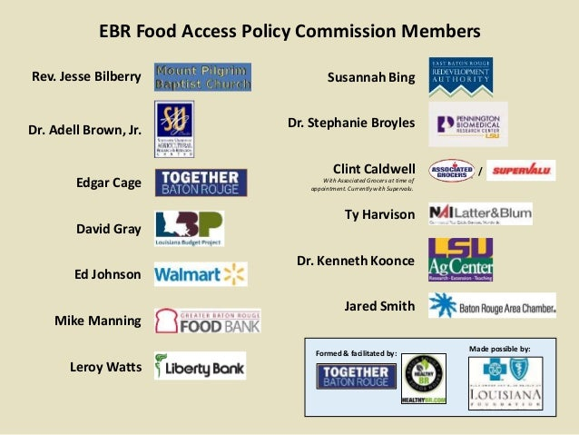 TBR Food Access #4: Food Access Policy Commission Final Report: Findings and policy recommendations Slide 2
