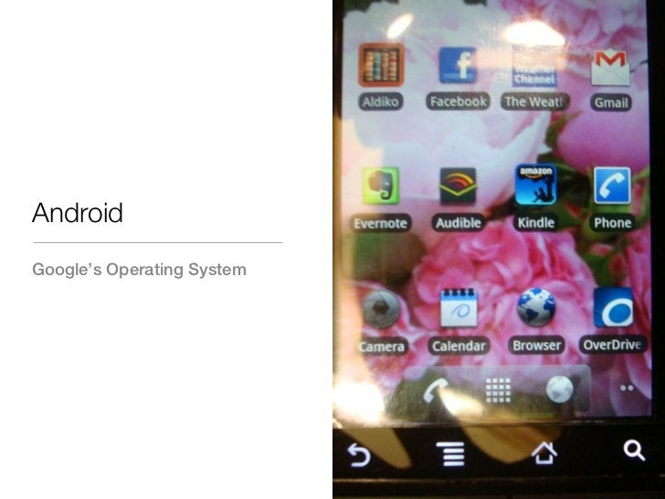AndroidGoogle's Operating System