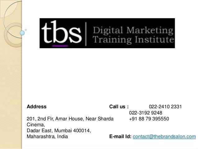 Address 201, 2nd Flr, Amar House, Near Sharda Cinema, Dadar East, Mumbai 400014, Maharashtra, India Call us : 022-2410 233...