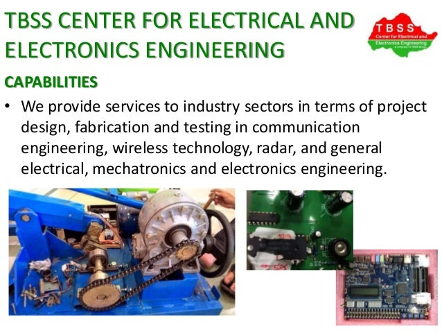 TBSS Center for Electrical and Electronics Engineering ...