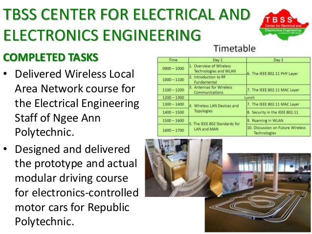Tbss Center For Electrical And Electronics Engineering