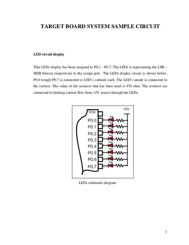 microcontroller application target board sample circuit rh slideshare net