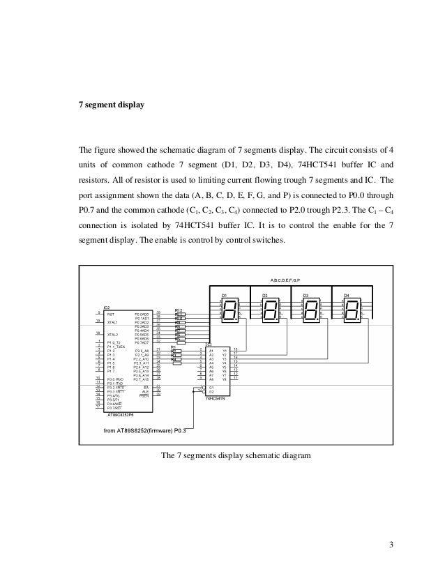 Microcontroller Application: Target Board sample circuit