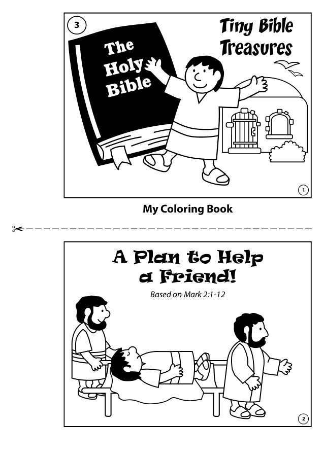 my coloring book tiny bible treasures a plan to help a friend