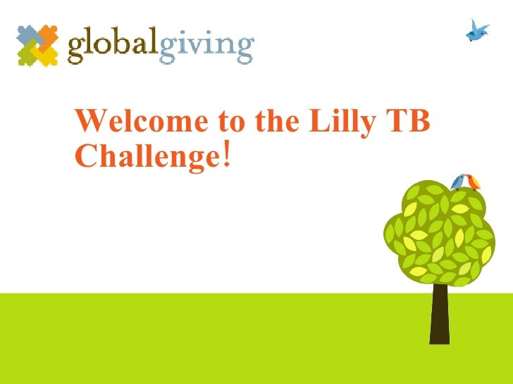 Welcome to the Lilly TB Challenge!