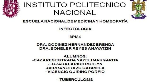 CONTENIDO • DEFINICION • EPIDEMIOLOGIA • ETIOLOGIA • PATOGENIA • FISIOPATOLOGIA • MANIFESTACIONES CLINICAS • TIPOS DE TUBE...