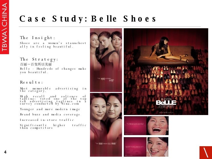 <ul><li>The Insight: </li></ul><ul><ul><li>Shoes are a women's staunchest ally in feeling beautiful. </li></ul></ul><ul><l...