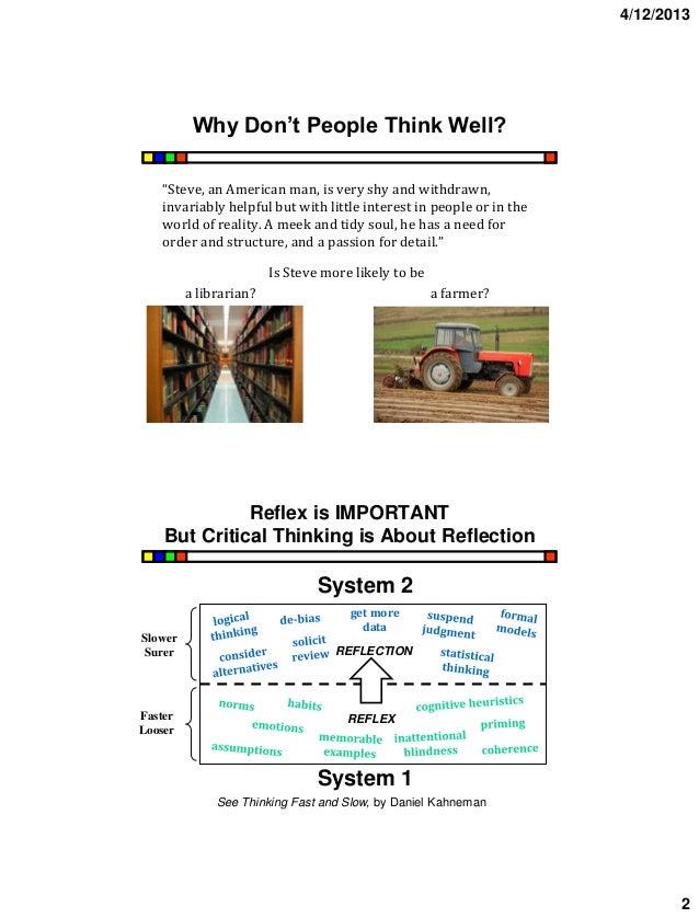 Critical Thinking Software Informer: It develops problem ...